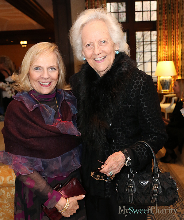 Jean Lattimore and Carolyn Lupton