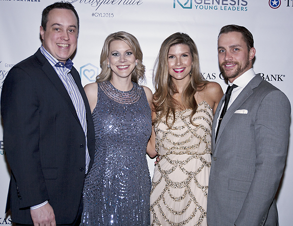 Mark and Heather LeClair and Marybeth and Kevin Conlon*