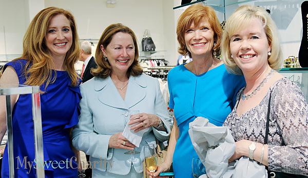 Tiffany Divis, Linda Secrest, Beth Thoele and Christie Carter