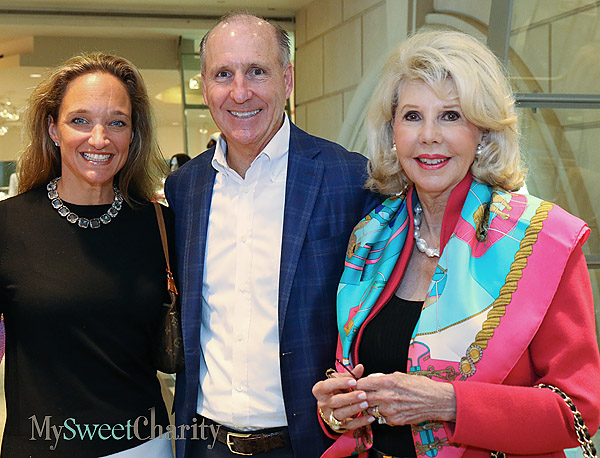 Lissie McCullough, Crawford Brock and Sharon McCullough