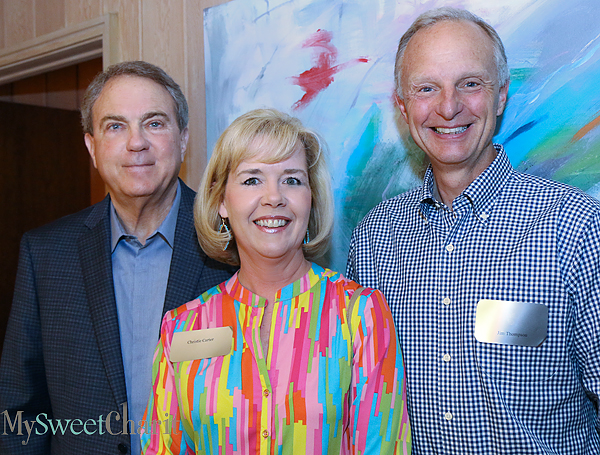 Glen Ashworth, Christie Carter and Jim Thompson