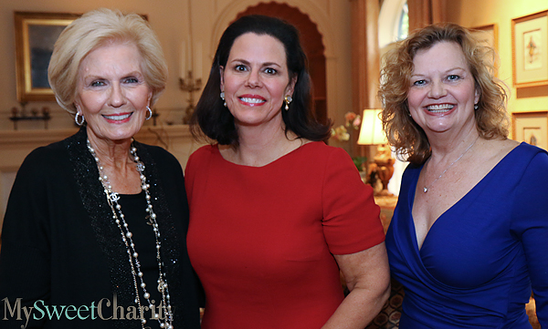 Merrie Ann King, Michal Powell and Ginger Sager