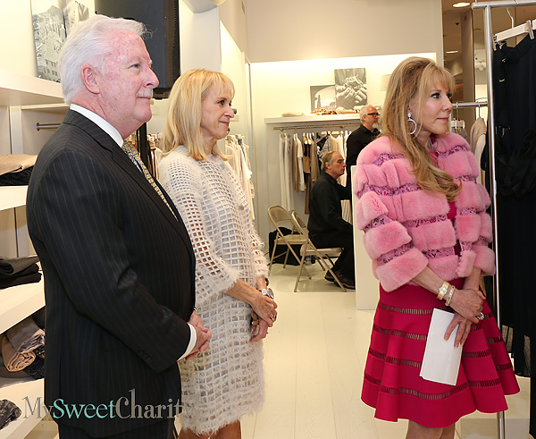 Jeff Byron, Neva Hall and Mary Clare Finney