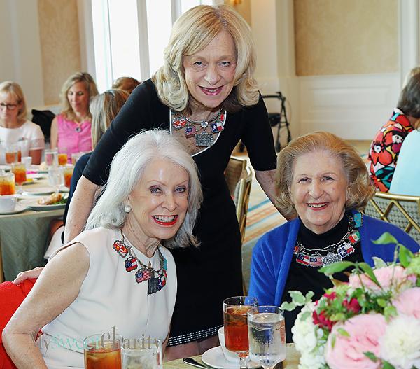 Jennie Reeves, Jennifer Metzger and Lindalyn Adams