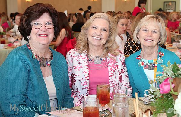 Barbara Cervin, Sandra Cude and Lynn Abbott