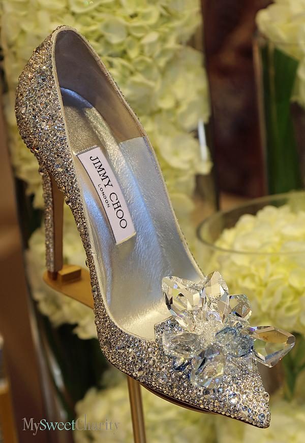 Jimmy Choo's Cinderella slipper