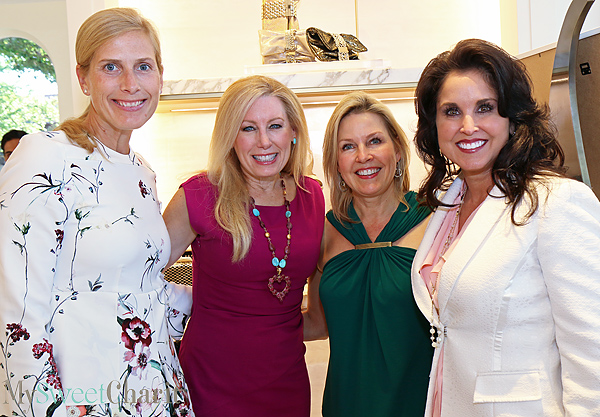 Kim Bannister, Mary Gill, Mary Martha Pickens and Wendy Messmann