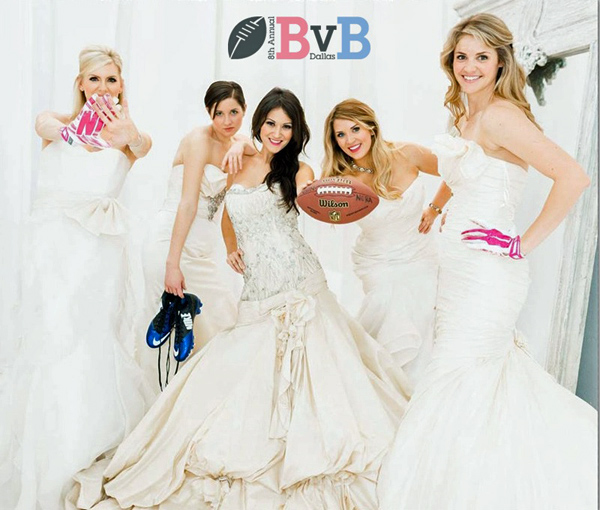 Blondes vs. Brunettes Brides*