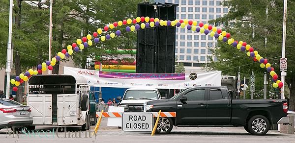 Closed street