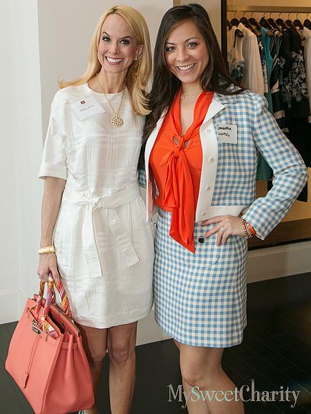 Katy Bock and Samantha Wortley