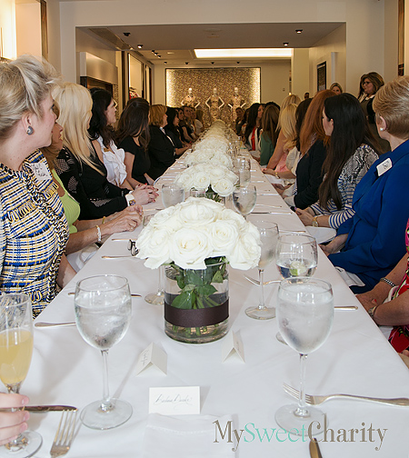Cattle Baron's Ball Members And Carolina Herrera Fashions Got Together For Lunch