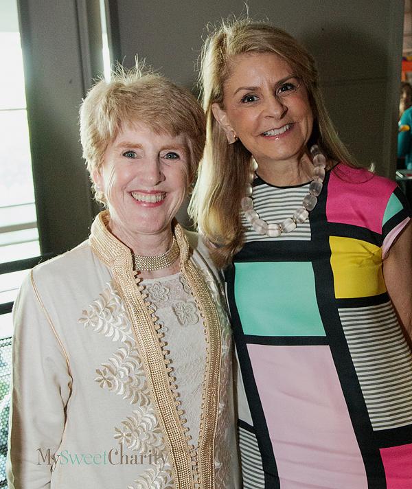 Lucy Billingsley and Caren Kline