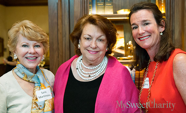 Sara Martineau, Cynthia Melnick and Leslie Diers