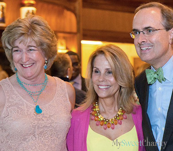 Carlin Morris, Anne Reeder and Brent Christopher