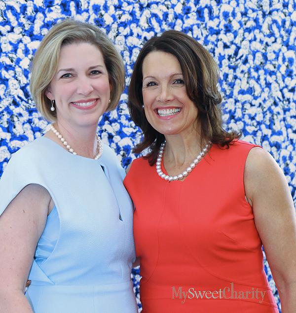 Cheryl Joyner and Pam Perella