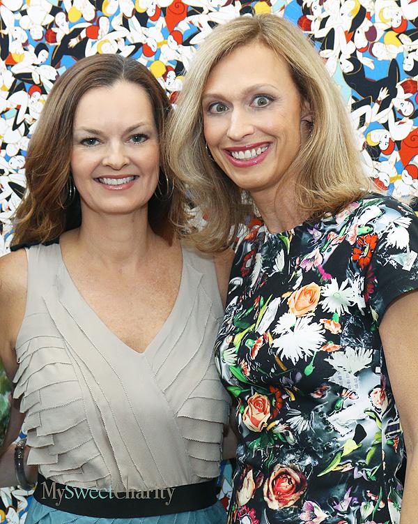 Kim Miller and Anne Besser