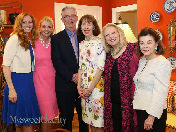 Tiffany Divis, Libby Hunt, Tom Campbell, Betsy Cullum, Sissy Cullum and Barbara Stuart