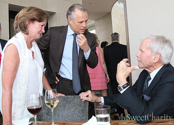 Mary McDermott, Dan Patterson and Tom Brokaw