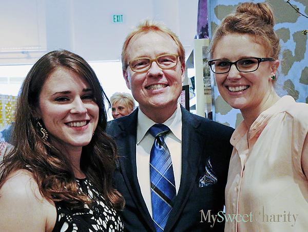 Lauren Thomasson, John Phifer Marrs and Valerie Cain