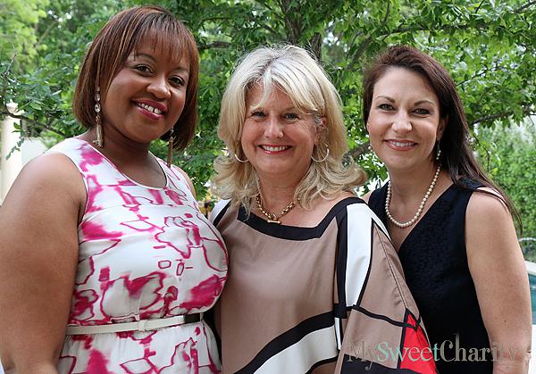 Bianca Jackson, Robin Bagwell and Angela Nash