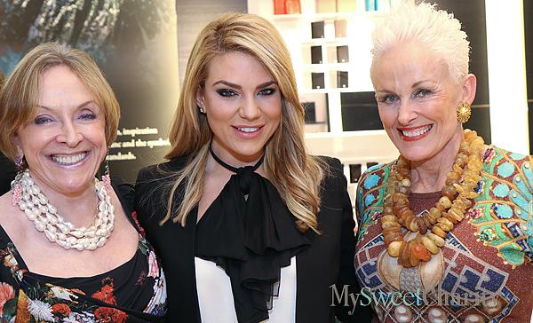 Laree Hulshoff, Anna-Sophia van Zweden and Barbara Daseke