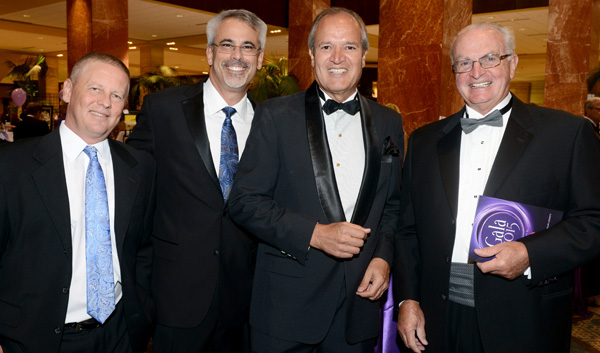 Tony Bradley, Dan Powers, Dave Hoffman and Richard Estell