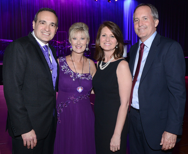 Richard and Cathy Riccardi and Angela and Ken Paxton