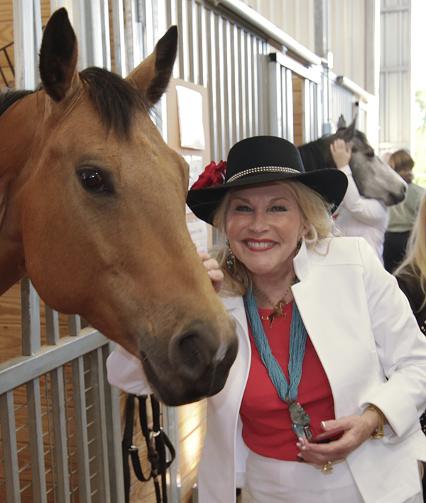 Two- And Four-Legged Party Animals Kicked Off Texas Horse Park At The Equest Premier Celebration