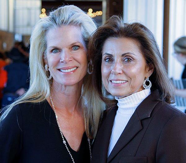 Lezlie Noble and Margo Keyes**