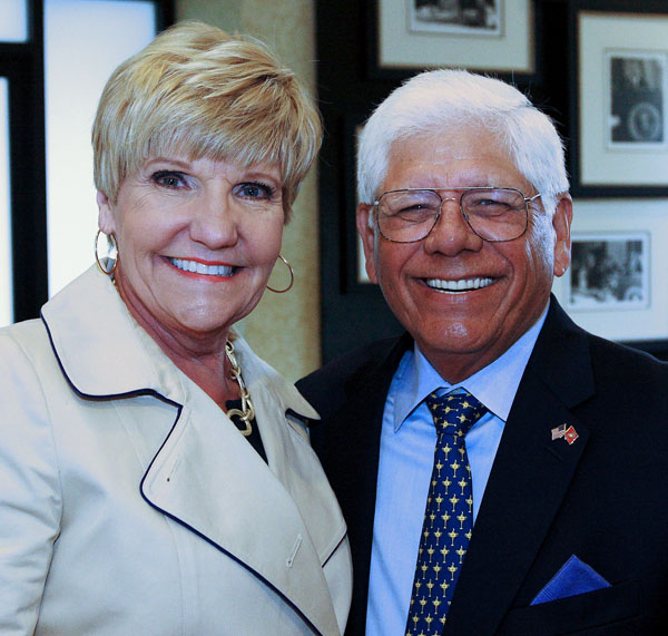 Salvation Army DFW's Doing Most Good Luncheon In Fort Worth Featured Golf Pro Lee Trevino And Texas Country Singer Pat Green