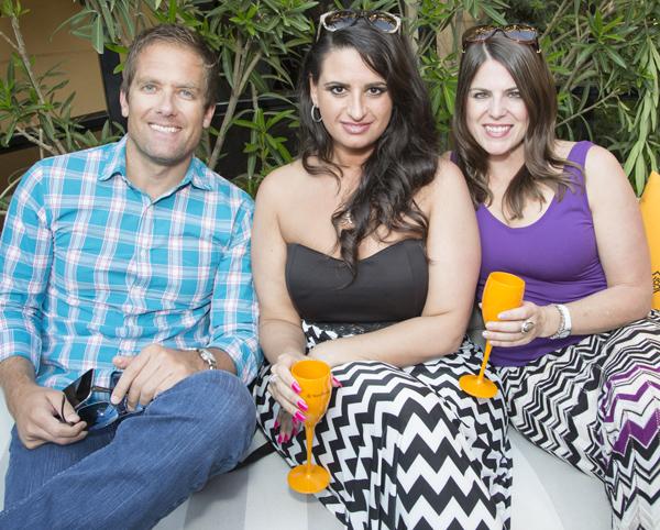 John Desmond, Karen Israel and Ginger Varga*