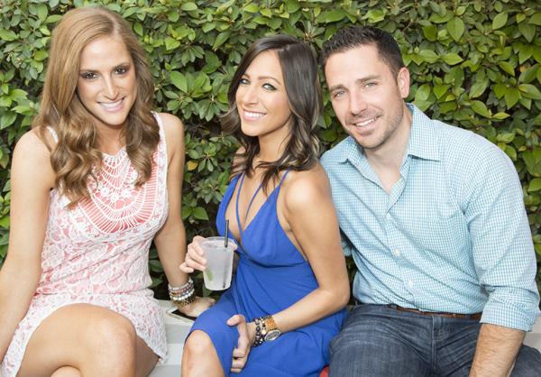 Krystal Houle, Julie Ellis and Aaron Garcia*