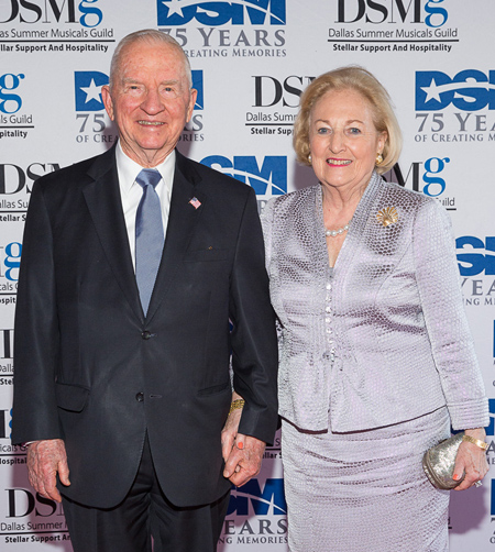 Ross and Margot Perot*