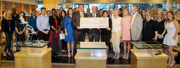 Korshak Check To Cristo Rey Dallas College Prep School Had The Wrong Amount Much To The Delight Of School Representatives