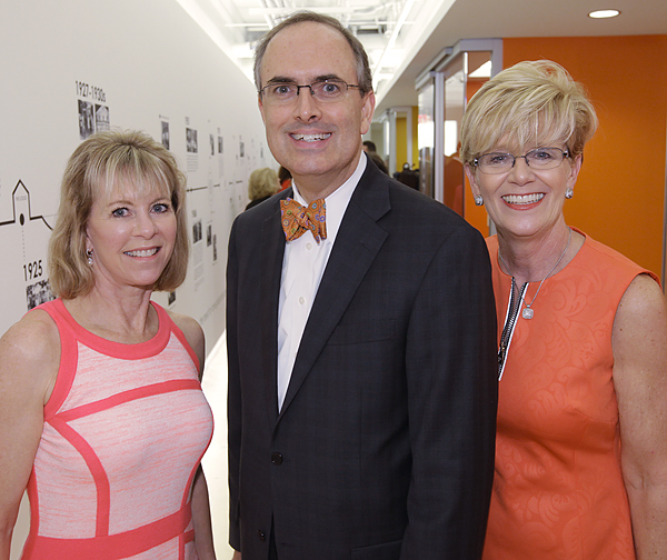 Anne Kniffen, Brent Christopher and Debbie Dennis