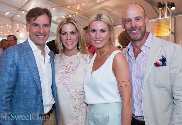 Rawleigh and Kate Ralls and Lisa and John Runyon