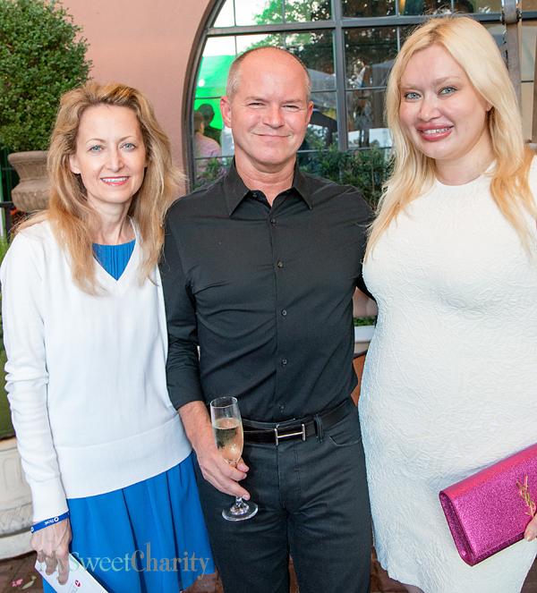 Lynn McBee, Bob Gibbs and Simona Beal