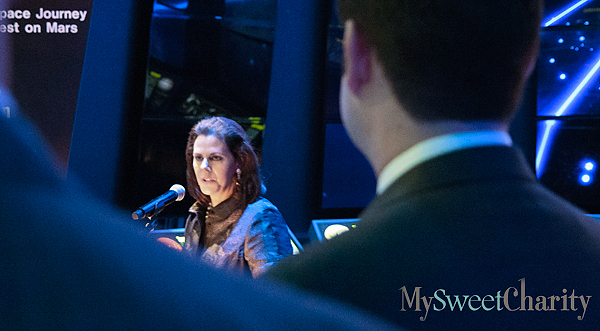2015 Crystal Charity Ball Chair Michal Powell Announces Gala's Theme With The Universe As Her Backdrop