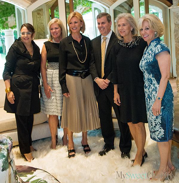 Kimber Hartmann, Patty Huffines, Debbie Tolleson, Eric Bennett, Debbie Francis and Sandi Chapman