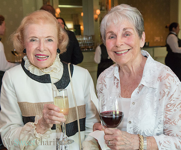 Betty Turner and Lois Dusza