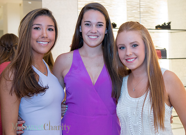 Maddie Lee, Lily Guevel and Ciara Cooley