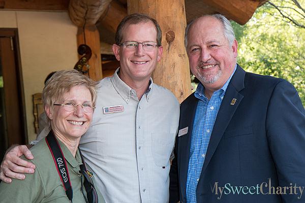 Cathy Burkey, Sean Greene and Greg Hudson