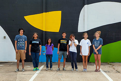 Dallas Contemporary And The Joule Team Up For Teen Street Art Camp