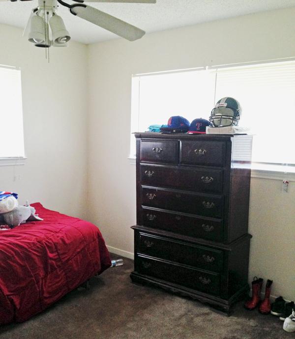 Before - boy's bedroom*