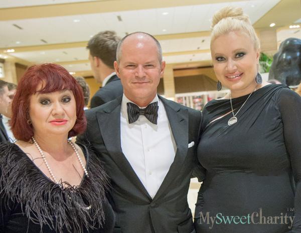 Luda Guseivov , Bob Gibbs and Simona Beal