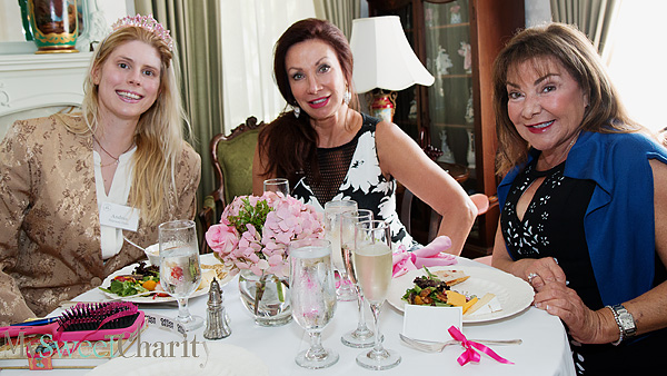 Andrea Pearson-Haas, Rhonda Aicklen and Eileen Nagel