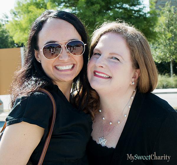 Joanna Clarke and Paige McDaniel