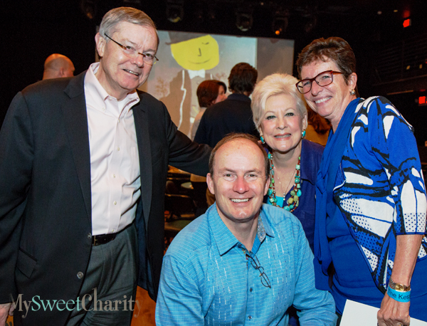 Hal Brierley, Don Winspear, Patricia Meadows and Diane Brierley