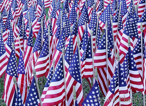 U.S. flags (File photo)
