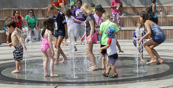 Rory Meyers Children's Adventure Garden's plaza (File photo)